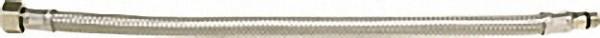 Verbindungsschlauch flexibel 3/8'' Ü-Wurfmutter x M 8, 350mm, kurzer Gewindenippel