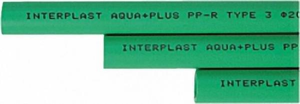 PPR Rohr Aqua-Plus d = 32x5,4 mm in Stange 1,95 m