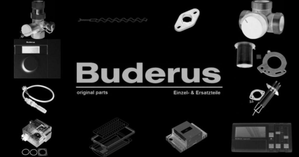 Buderus 8733702114 Filter Kugelhahn DN32