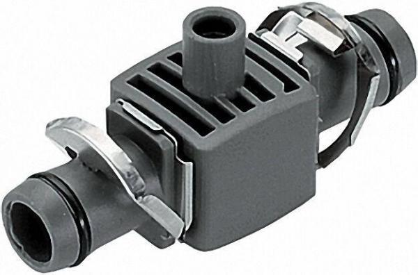 GARDENA T-Stück für Sprühdüse 13mm (1/2'') Inhalt:5 Stück, 1 Verschlusskappe