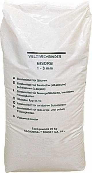 Ölaufsaugmittel, Ölbindemittel 1 Sack a'20 kg