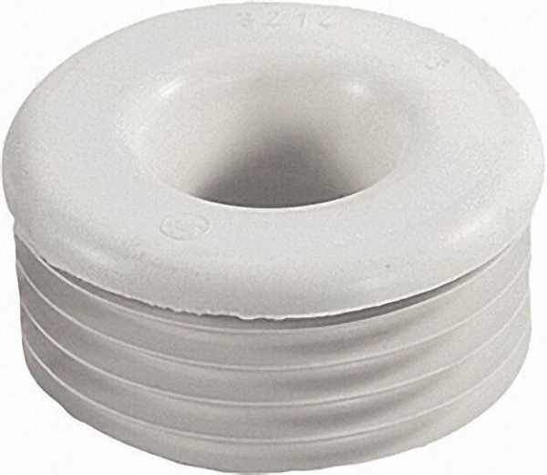 Gummi-Spülrohrverbinder hell für Euro-WC D 28/32mm Anschluss=55-58mm/ ohne Rosette