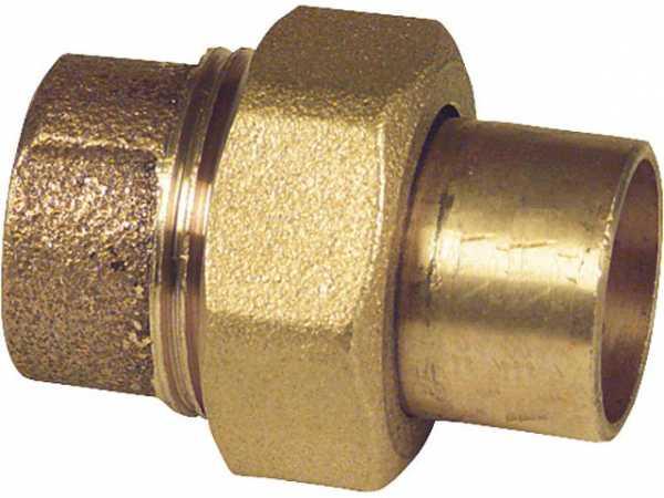 Rotguß-Lötfittings 4330 Verschraubung flachdichtend 28mm