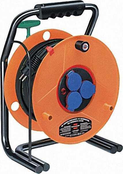 Kabeltrommel Typ Robusta ROL'UP Bretec IP44 Kabellänge=40m D=290mm