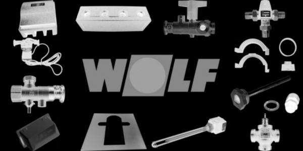 WOLF 1720501 Gehäuse Oberschale