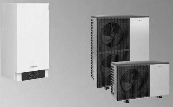 VIESSMANN Vitocal 200-A Typ AWO-E-AC 201.A 400V oder AWO-M-E-AC 201.A 230V Heizen/Kühlen
