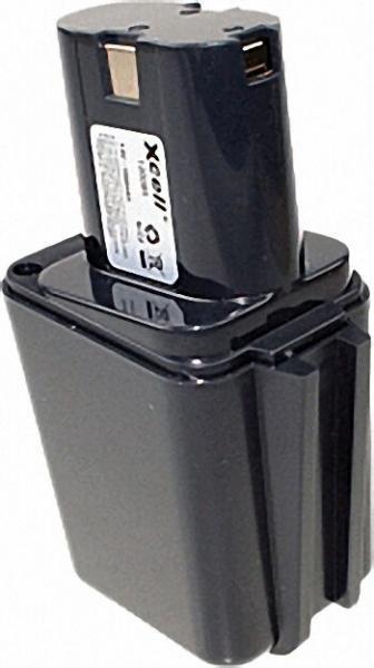 Werkzeugakku für Bosch Ni-Cd 9, 6V/2000mAh Stabform