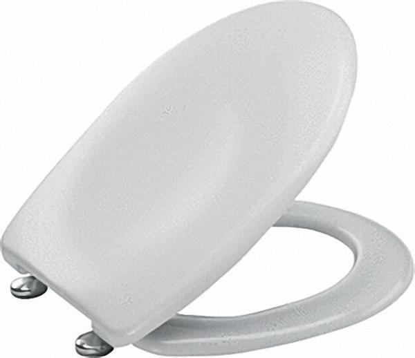 WC Sitz Twist-Clean antibakteriell mit Vario-Schanier bahamabeige aus Duroplast