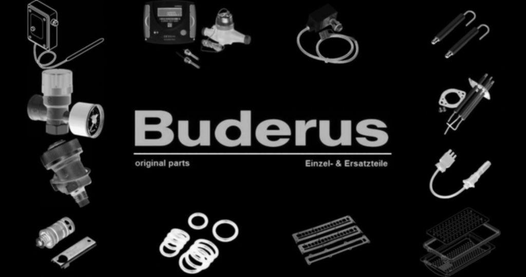 Buderus 5538455 Vorlaufanschl Rohrbogen G11/2xG1 kpl