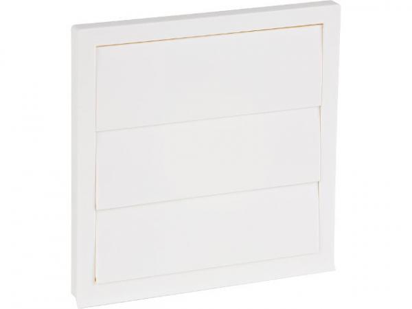 Wrasenklappe NW150 Kunststoff weiß