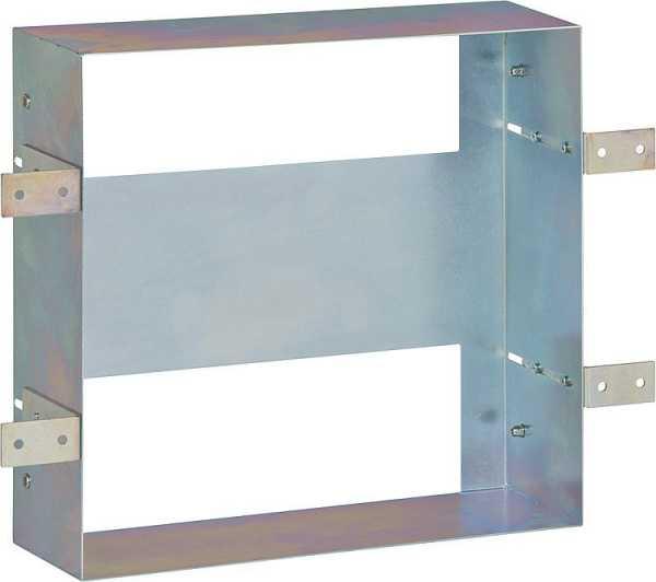 Stahl-Einbaurahmen für Wandeinbaunischen
