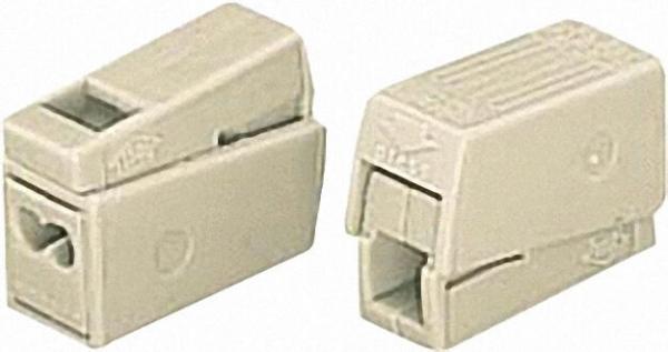 Leuchtenklemme 224 2-Leiter-Leuchtenklemme, Farbe:weiß 2x1,0-2,5mm², VPE=100