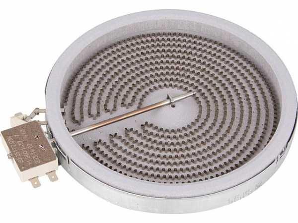 HiLight-Heizkörper Einkreis 1800W-230V, d=180mm