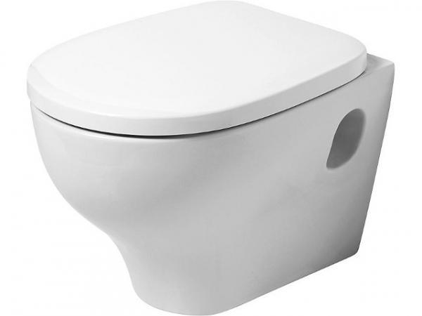 Wand-Tiefspül-WC EVID aus Keramik weiß BxHxT 350x375x525