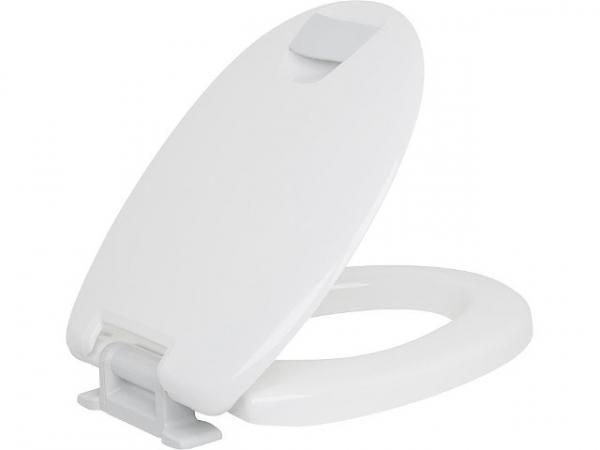 WC-Sitz Hamberger Haromed Softclose 5cm Sitzhöhe Haltergriffe grau