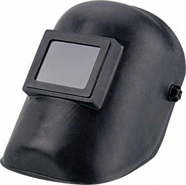 Schweißer-Schutzschirm, Glasfaser mit Gläser und Kopfband