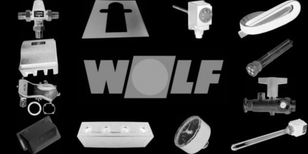 WOLF 1615348 Isolierung Gussblockdeckel