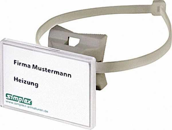 Quick-Schilderhalter 70x50, 8, Schnellspannband