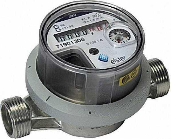 ELSTER AP Einstrahlzähler PICOFLUX EVZ-A QN 1,5mn/h DN 3/4' 130mm 90°C inklusive Eichgebühr