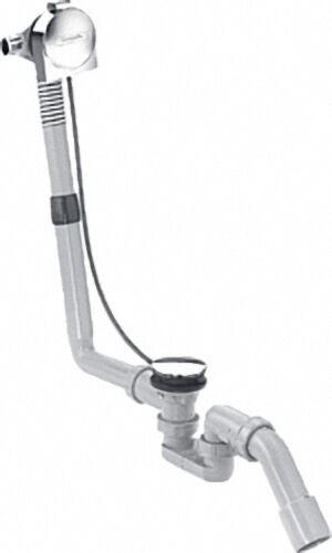 HANSGROHE 58113000 Exafill S Wanneneinlauf mit Ab- und Überlaufgarnitur Komplettset DN20, für Normal