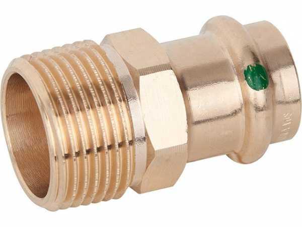 VIEGA Sanpress Übergangsstück Modell 2211 15mmxDN20(3/4)