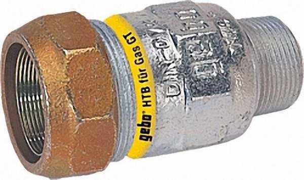 GEBO Temperguss-Klemmverbinder AG Gas PN 4, Typ AT 3/4'' (26,9)
