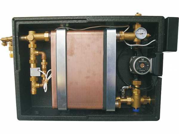 Frischwasserstation Gross max. 62l/min.,inkl.Zirkulation