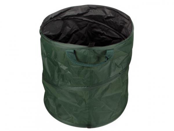 POP-UP Gartenabfallsack mit Griffen, 85 Liter, wasserdicht, Gartenabfälle
