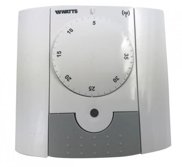 WATTS 10025811 Elektronischer Funk- Raumthermostat, Typ BT-A-RF, 868 MHZ