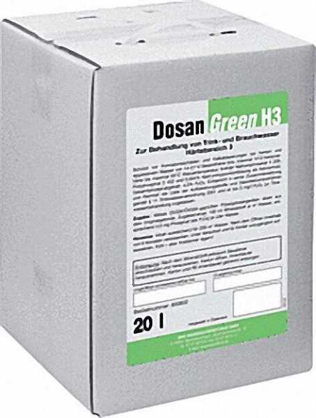 BWG Wasserchemie Dosan H3 20 kg Härtebereich 3=(14-21°dH)