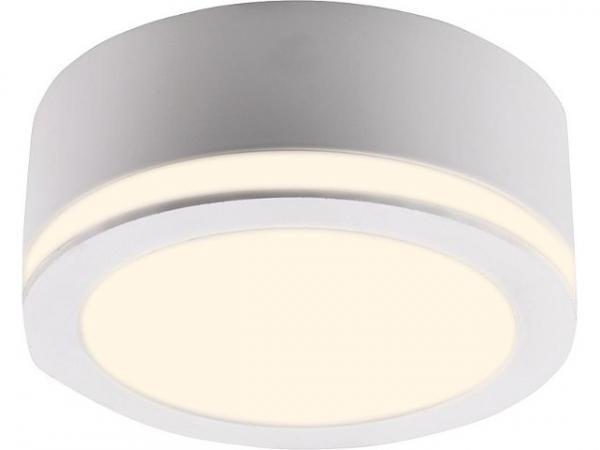 LED Einbaustrahler 10W, weiss + Lichtkranz, 27777