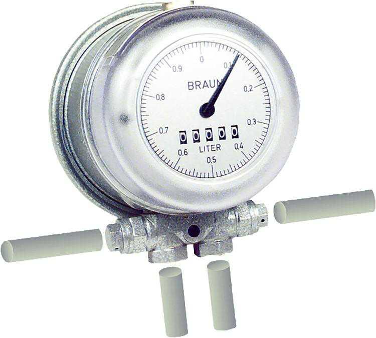 Ölzähler HZ 3 0, 18-12 l/h Zertifiziert