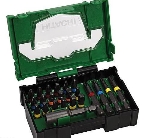 HITACHI Bit-Box 23-teilig, 25mm schlagfeste Bits