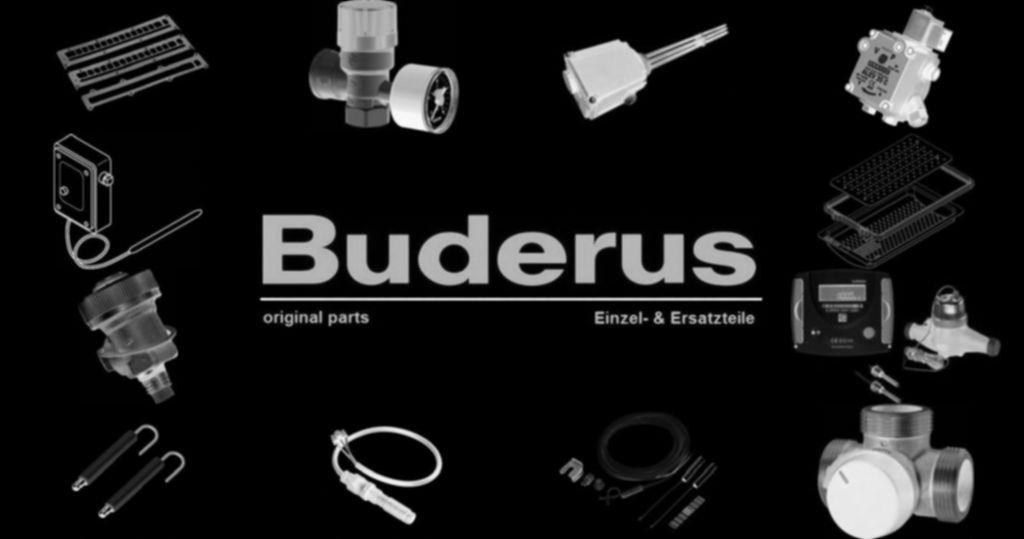 Buderus 7099011 Rohr-Verbindung-Siphon