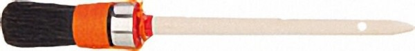 Pr. -Ringpinsel Gr. 10, dopp. Fadenvorband, schw. China- borste, 3-fach gek. 90 % Tops