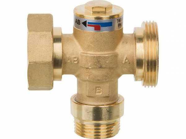 Ersatz Ladeventil komplett für Festbrennstoff-Ladeset Easyflow DN25, 60°C
