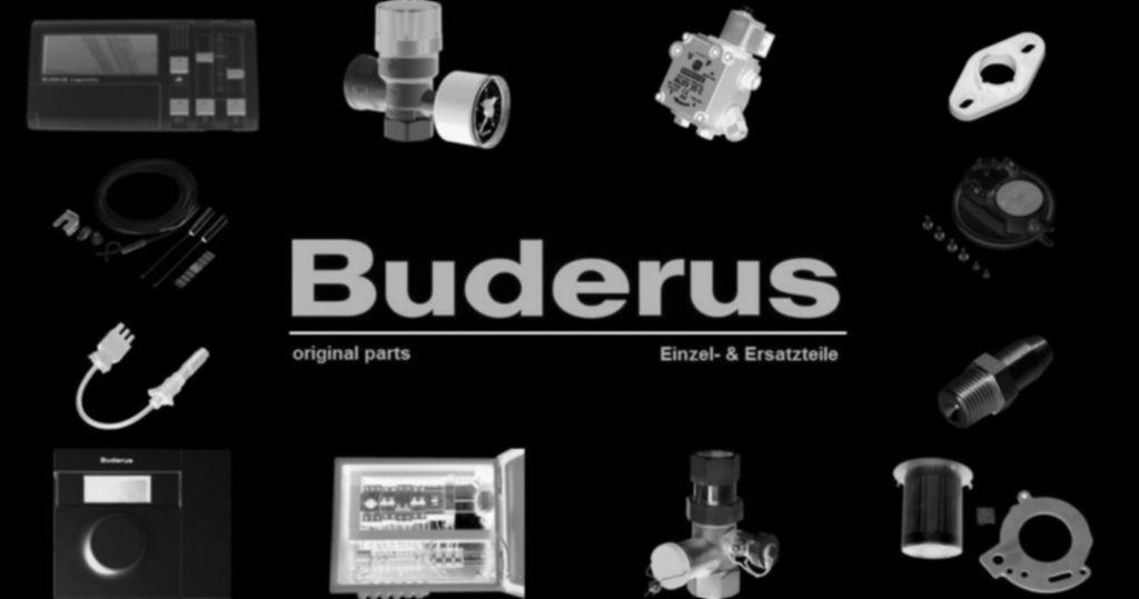 Buderus 63023654 Rücklaufrohr G1xG11/4 HS/HSM