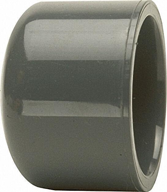 Pvc-u - Klebefitting Kappe, 63mm