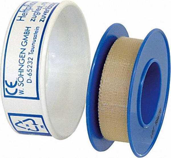 Heftpflaster Söhngen-Plast auf der Rolle 1,25cm x 5 m