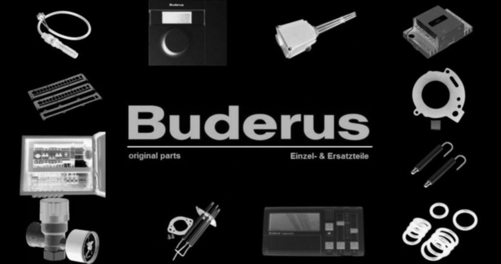 Buderus 8738206155 Rohr f. Pumpe Sicherheitsgruppe