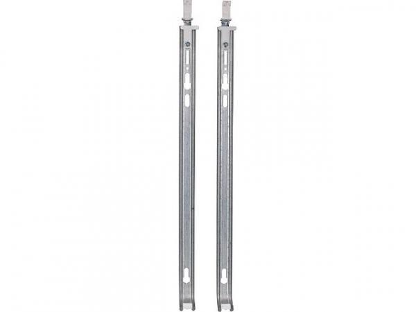 Wandkonsolen-Set für Bauhöhe 600mm - mit Schraub. +Dübel, 2xKon- sole, 2xDüb. 10mm, 2xSchraub. 8x70mm