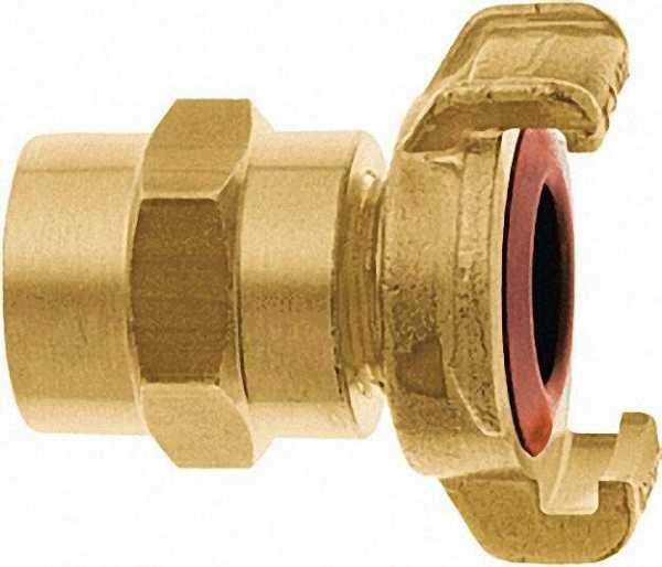 GEKA Xkompletts-Schlauch-Stück für Trinkwasser, 1/2''-13mm, Messing