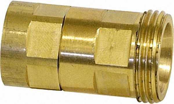 Entleerungs- und Fülladapter für Regulux-Rücklauf-Verschraubungen x 1/2'' Schlauch