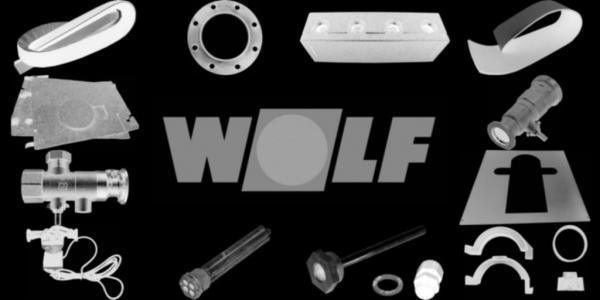 WOLF 8901793 Strömungssicherung Deckel