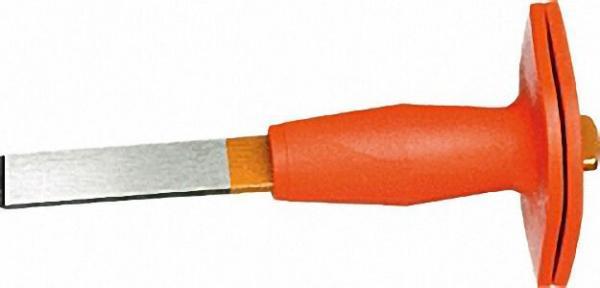HABERO Schlitzmeißel mit Hand- schutz Länge 240mm