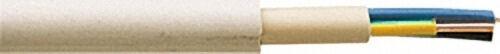 Isolierte Starkstromleitung NYM-J, 7 x 2,5, gr, Rolle a 100m