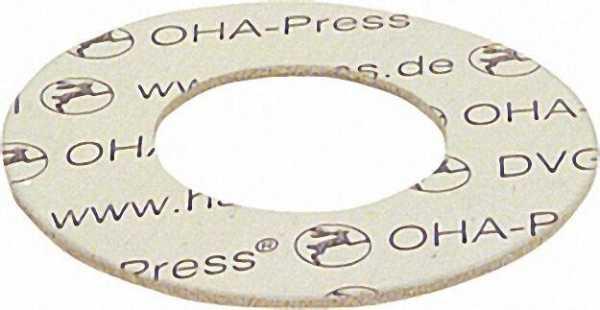 Dichtungen asbestfrei 195 x 248mm DN 175 PN 16 VPE: 1 Stück