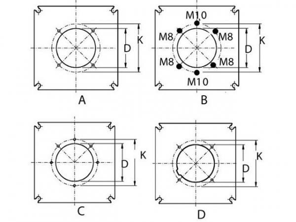 Buderus 8718575188 Brennerplatte ungebohrt 10x270x270mm Blindplatte