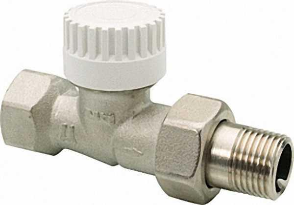 EVENES Thermostatventil-Unterteil Typ Thermostar 1/2'' Durchgang