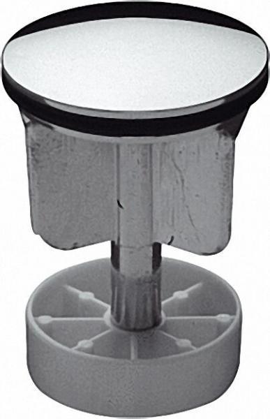Excenterstopfen 1 1/4'' Messing verchromt mit O-Ring